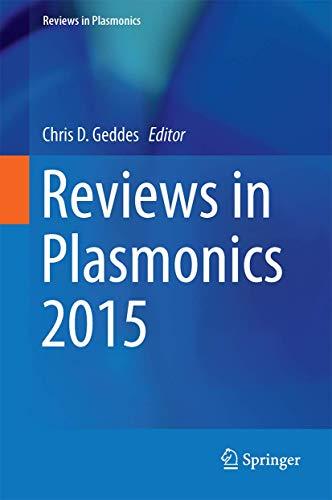 Reviews in Plasmonics 2015 (Hardcover)