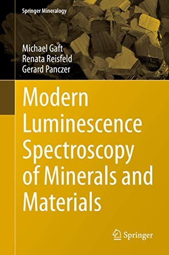 9783319247632: Modern Luminescence Spectroscopy of Minerals and Materials (Springer Mineralogy)