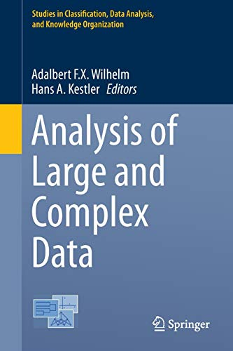 9783319252247: Analysis of Large and Complex Data (Studies in Classification, Data Analysis, and Knowledge Organization)