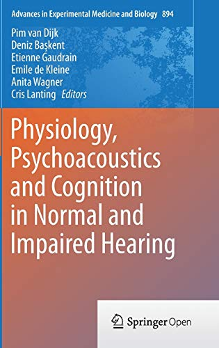 9783319254722: Physiology, Psychoacoustics and Cognition in Normal and Impaired Hearing (Advances in Experimental Medicine and Biology)