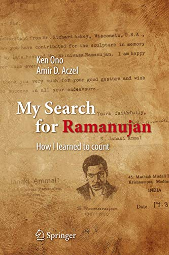 9783319255668: My Search for Ramanujan: How I Learned to Count
