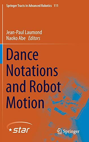 9783319257372: Dance Notations and Robot Motion