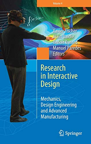 9783319261195: Research in Interactive Design (Vol. 4): Mechanics, Design Engineering and Advanced Manufacturing