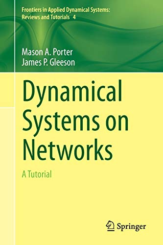 9783319266404: Dynamical Systems on Networks: A Tutorial