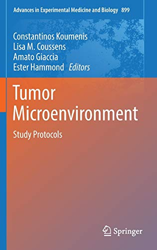 9783319266640: Tumor Microenvironment: Study Protocols (Advances in Experimental Medicine and Biology)