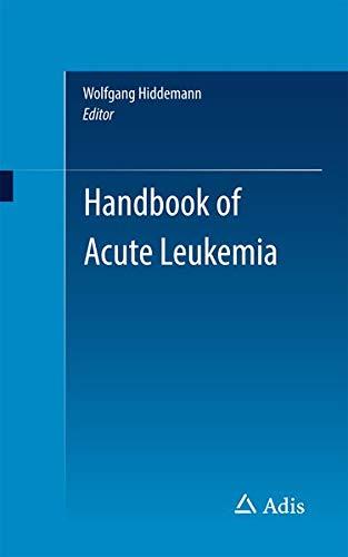 9783319267708: Handbook of Acute Leukemia