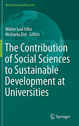 The Contribution of Social Sciences to Sustainable Development at Universities (Hardback)