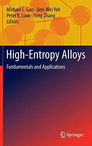 9783319270111: High-entropy Alloys
