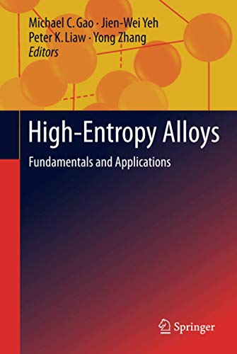 9783319270111: High-Entropy Alloys: Fundamentals and Applications