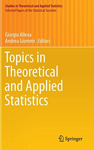 9783319272726: Topics in Theoretical and Applied Statistics (Studies in Theoretical and Applied Statistics)