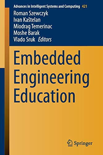 9783319275390: Embedded Engineering Education (Advances in Intelligent Systems and Computing)
