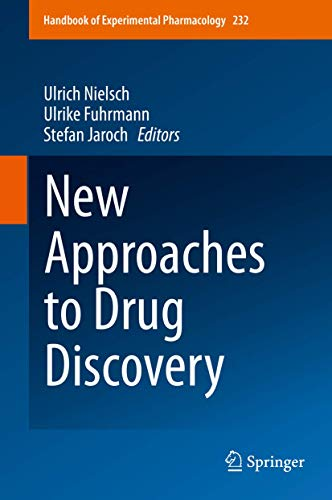 New Approaches to Drug Discovery: Ulrich Nielsch