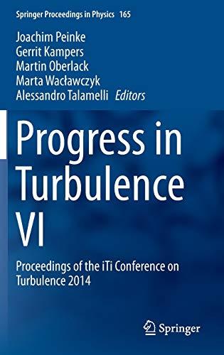 Progress in Turbulence: Proceedings of the Iti: Peinke, Joachim (Edited