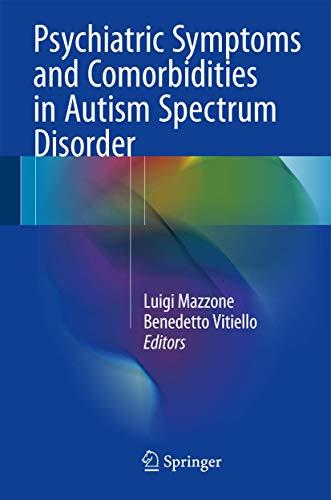 Psychiatric Symptoms and Comorbidities in Autism Spectrum: Mazzone, Luigi; Vitiello,