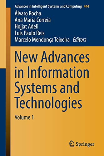 New Advances in Information Systems and Technologies: Álvaro Rocha