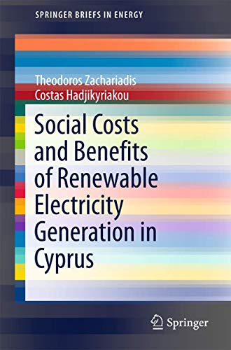9783319315348: Social Costs and Benefits of Renewable Electricity Generation in Cyprus (SpringerBriefs in Energy)
