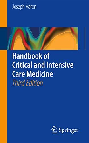 9783319316031: Handbook of Critical and Intensive Care Medicine
