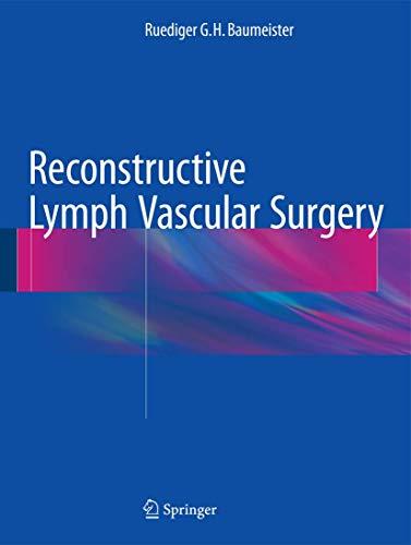 9783319316451: Reconstructive Lymph Vascular Surgery