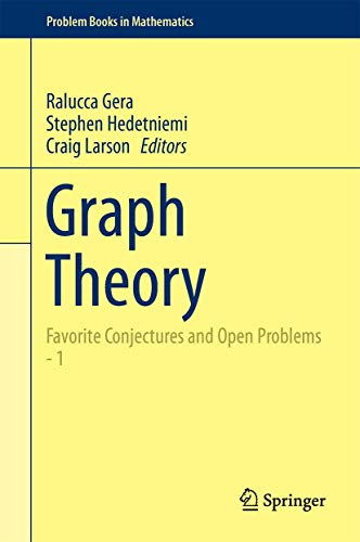 9783319319384: Graph Theory: Favorite Conjectures and Open Problems - 1 (Problem Books in Mathematics)