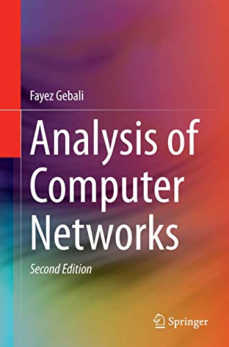 9783319330914: Analysis of Computer Networks