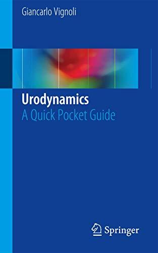 9783319337586: Urodynamics: A Quick Pocket Guide