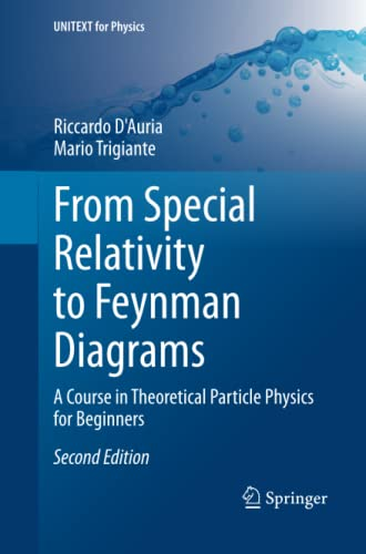 9783319342498  From Special Relativity To Feynman Diagrams