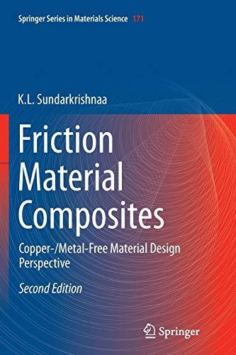 Friction Material Composites: Sundarkrishnaa, K. L.