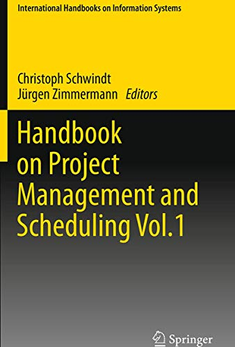 9783319342955: Handbook on Project Management and Scheduling Vol.1 (International Handbooks on Information Systems)