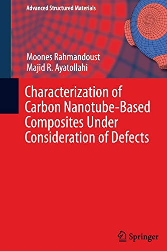 9783319343518: Characterization of Carbon Nanotube Based Composites under Consideration of Defects (Advanced Structured Materials)