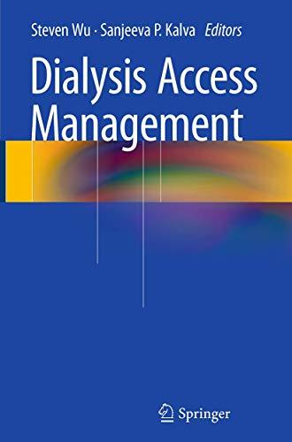 Dialysis Access Management: Springer