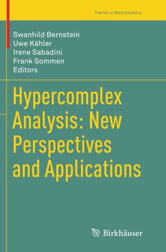 9783319353623: Hypercomplex Analysis: New Perspectives and Applications (Trends in Mathematics)