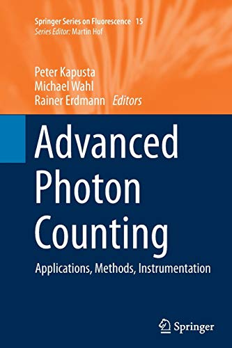 9783319354293: Advanced Photon Counting: Applications, Methods, Instrumentation (Springer Series on Fluorescence)