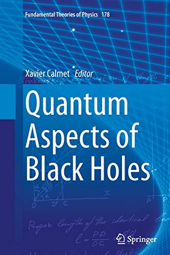 9783319354750: Quantum Aspects of Black Holes (Fundamental Theories of Physics)