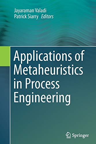 9783319357041: Applications of Metaheuristics in Process Engineering
