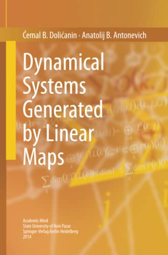 9783319358307: Dynamical Systems Generated by Linear Maps