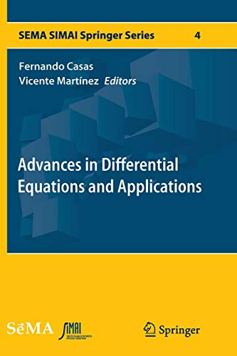 9783319359953: Advances in Differential Equations and Applications (SEMA SIMAI Springer Series)