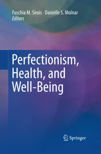 9783319360669: Perfectionism, Health, and Well-Being