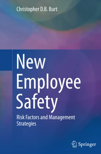 9783319360812: New Employee Safety: Risk Factors and Management Strategies