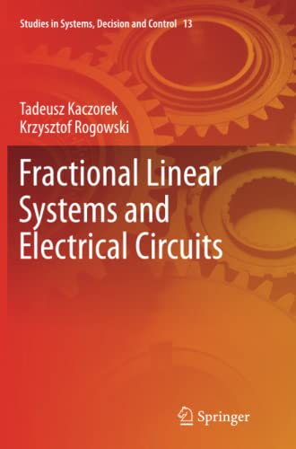 9783319365299: Fractional Linear Systems and Electrical Circuits ...