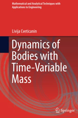 9783319369310: Dynamics of Bodies with Time-Variable Mass