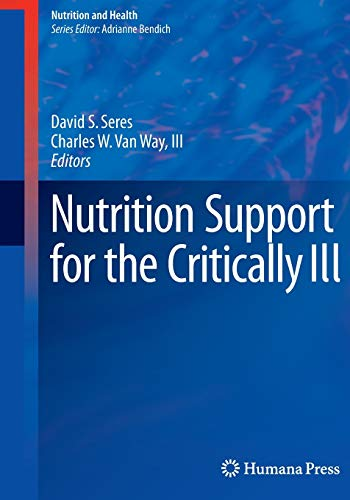 9783319371122: Nutrition Support for the Critically Ill