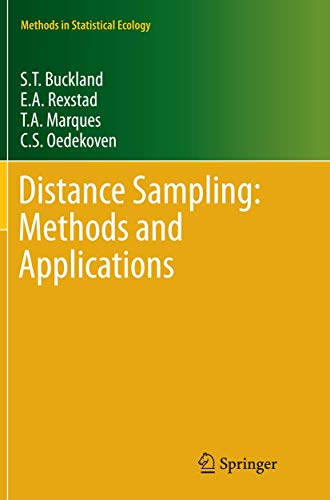 9783319371962: Distance Sampling: Methods and Applications (Methods in Statistical Ecology)