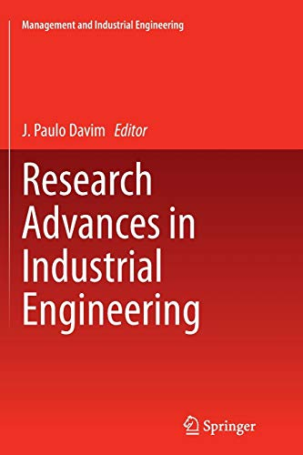 9783319374901: Research Advances in Industrial Engineering (Management and Industrial Engineering)