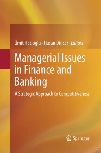 9783319376677: Managerial Issues in Finance and Banking: A Strategic Approach to Competitiveness
