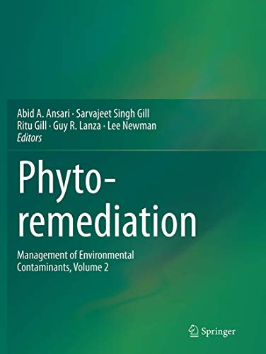 9783319377049: Phytoremediation: Management of Environmental Contaminants, Volume 2