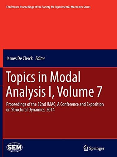 Topics in Modal Analysis I, Volume 7: James De Clerck