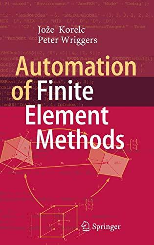 Automation Of Finite-Element-Methods 1st ed. 2016: Korelc, Joze;wriggers, Peter