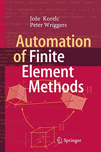 9783319390031: Automation of Finite Element Methods
