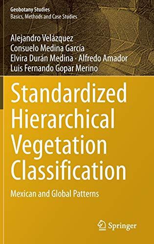 Standardized Hierarchical Vegetation Classification: Alejandro Velázquez (author),