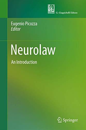 Neurolaw: An Introduction: Springer